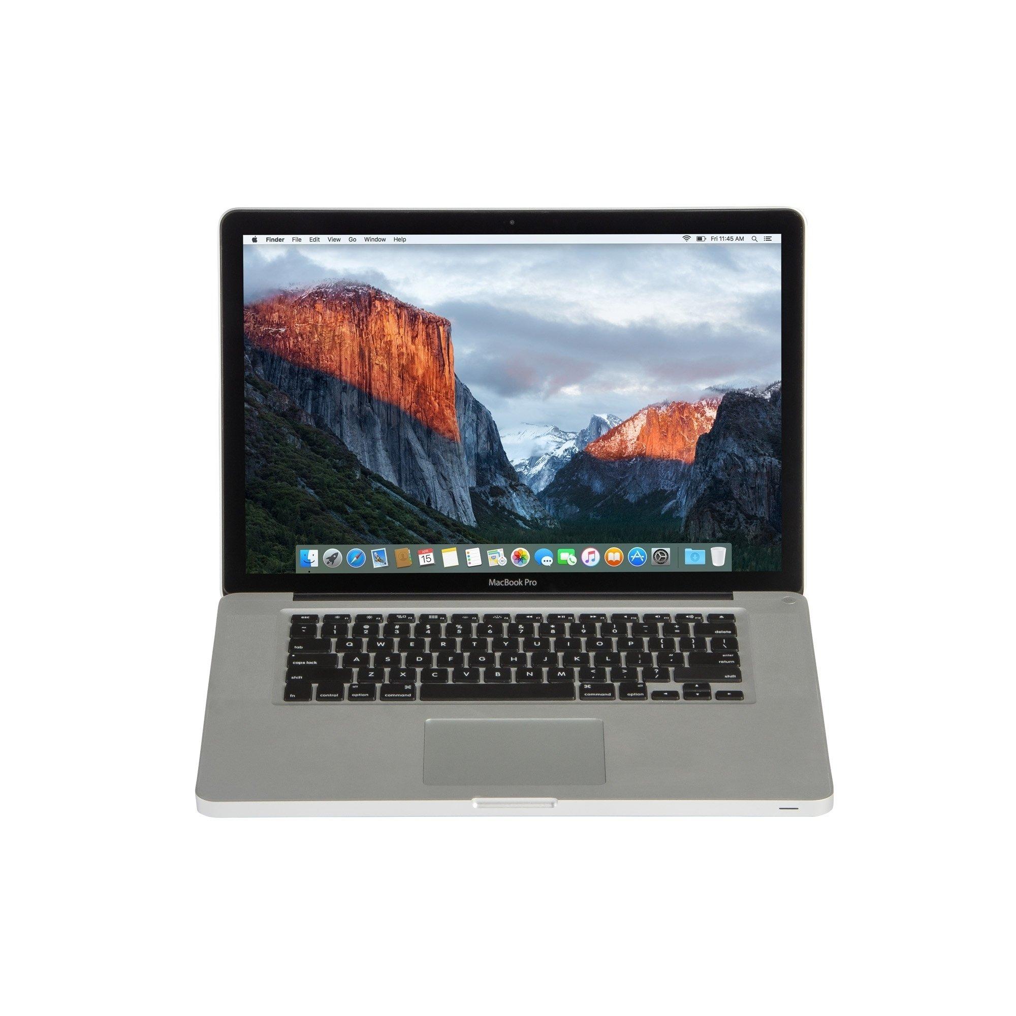 Apple MB990LL/A Macbook Pro 13.3-inch Core 2 Duo 4GB RAM 160GB HDD El Capitan – Certified Preloved