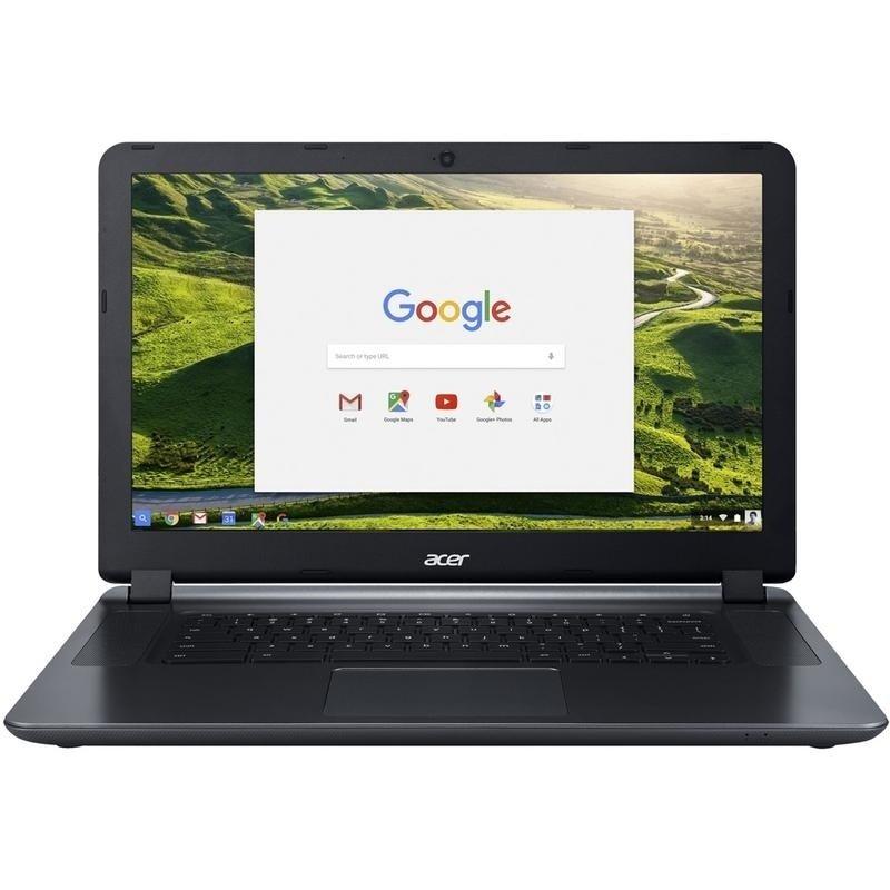 Acer Chromebook 15.6″ Intel Dual-core 1.6 ghz 4 GB Ram 16 GB Flash Chrome OS Factory Recertified