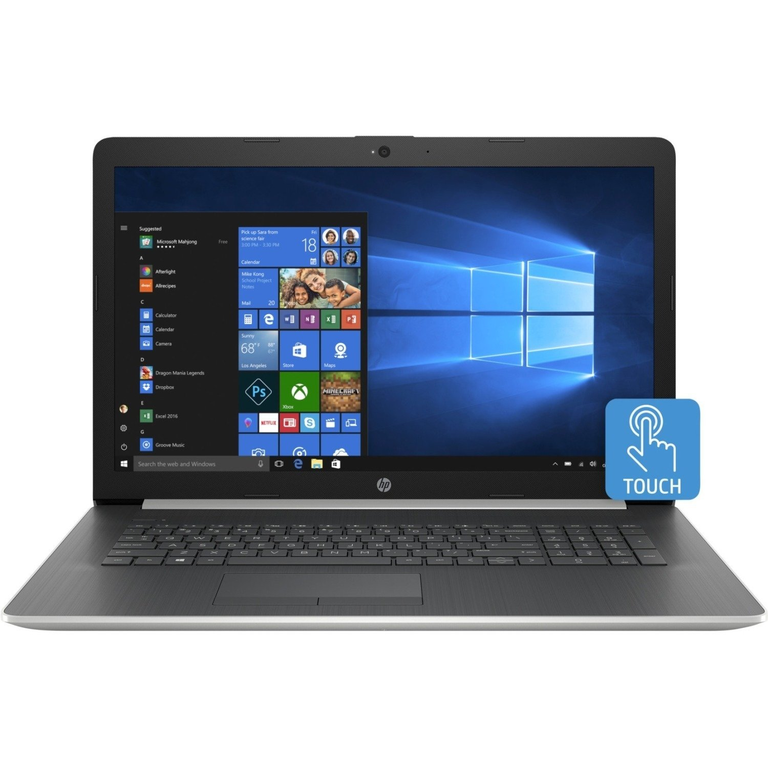 HP 17-by0000 17-by0053cl 17.3″ Touchscreen LCD Notebook – Intel Core