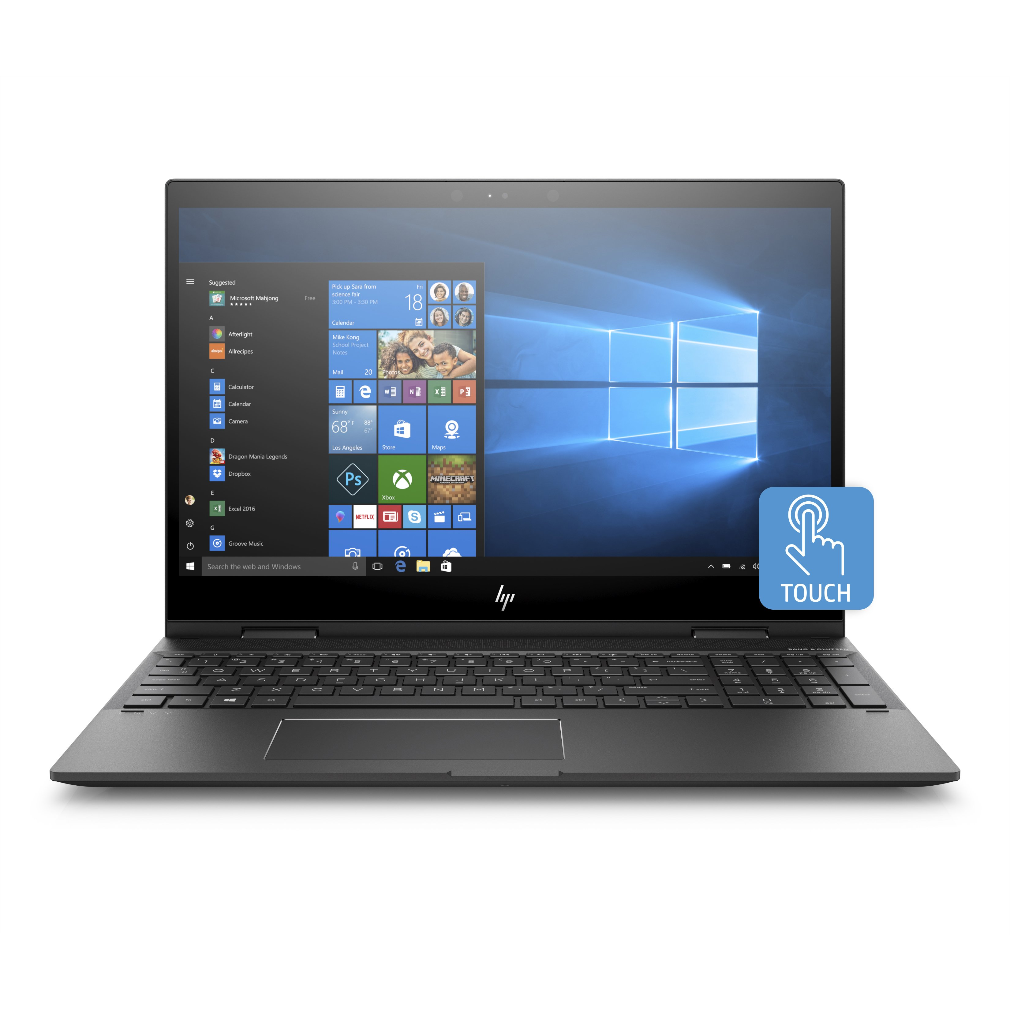 HP ENVY x360 15m-cp0000 15m-cp0011dx 15.6″ Touchscreen LCD 2 in 1 Not