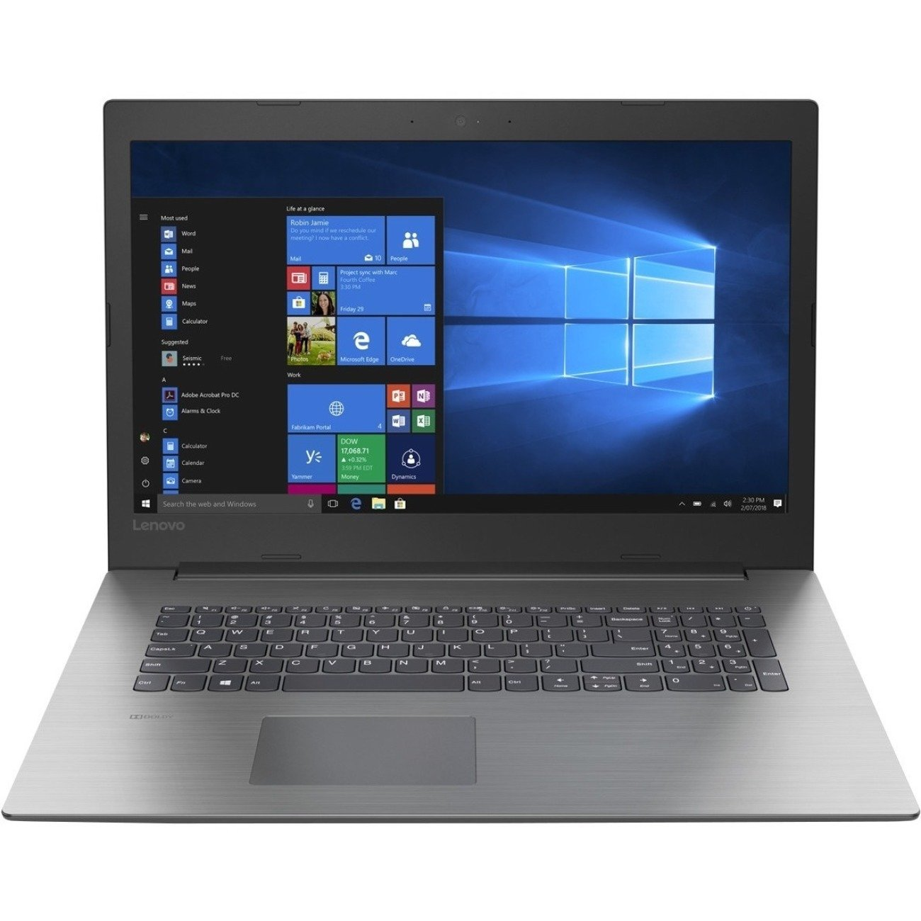 Lenovo IdeaPad 330-17AST 81D70001US 17.3″ LCD Notebook – AMD A-Series