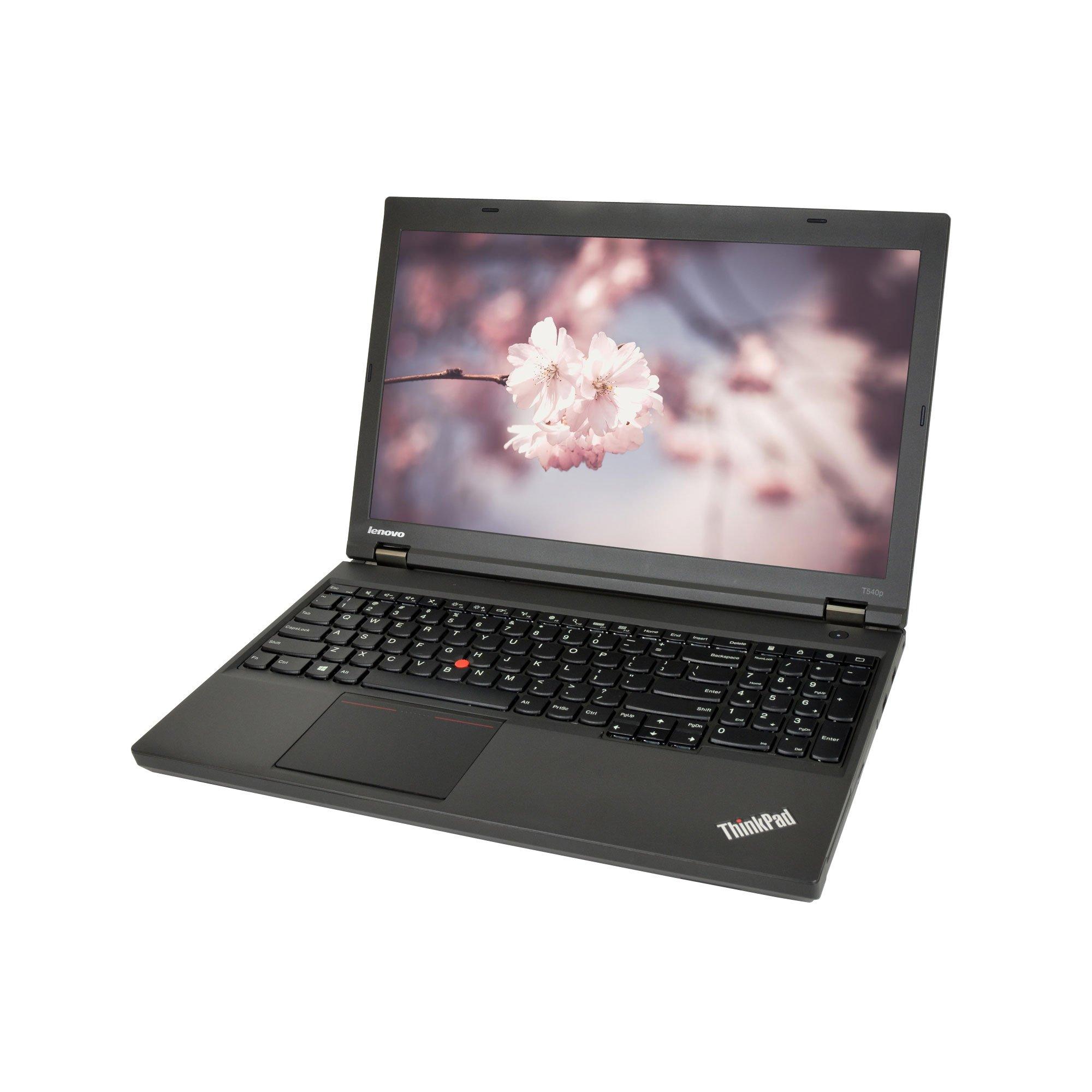 Lenovo ThinkPad T540P Core i7-4700MQ 2.4GHz 16GB RAM 500GB SSD DVD-RW Win 10 Pro 15.6″